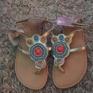 Nwt Cherokee sandals size 1 with tag